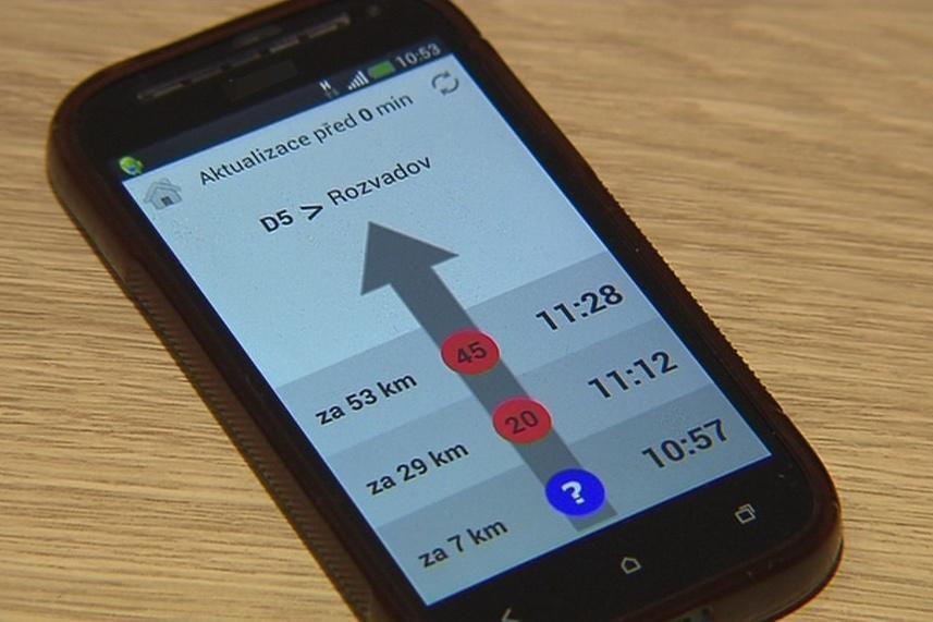 Vznikající aplikace napoví, kde mohou kamiony zaparkovat