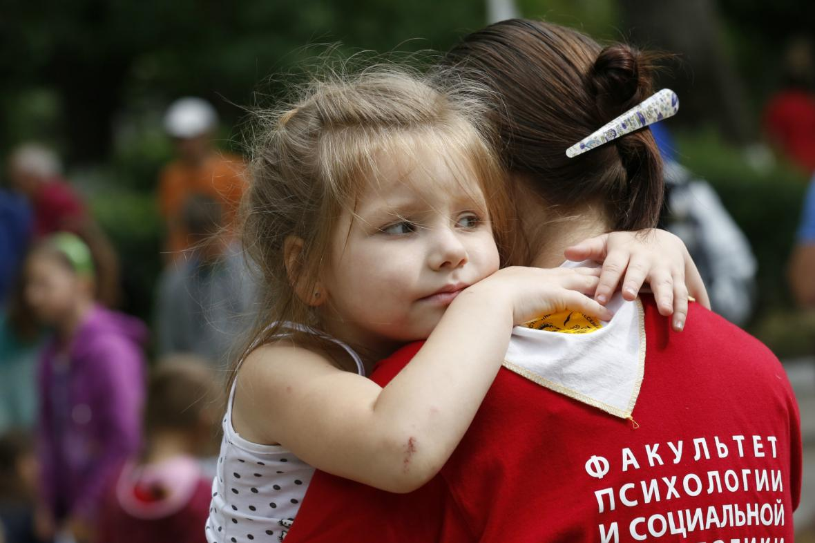 Ukrajinští uprchlíci
