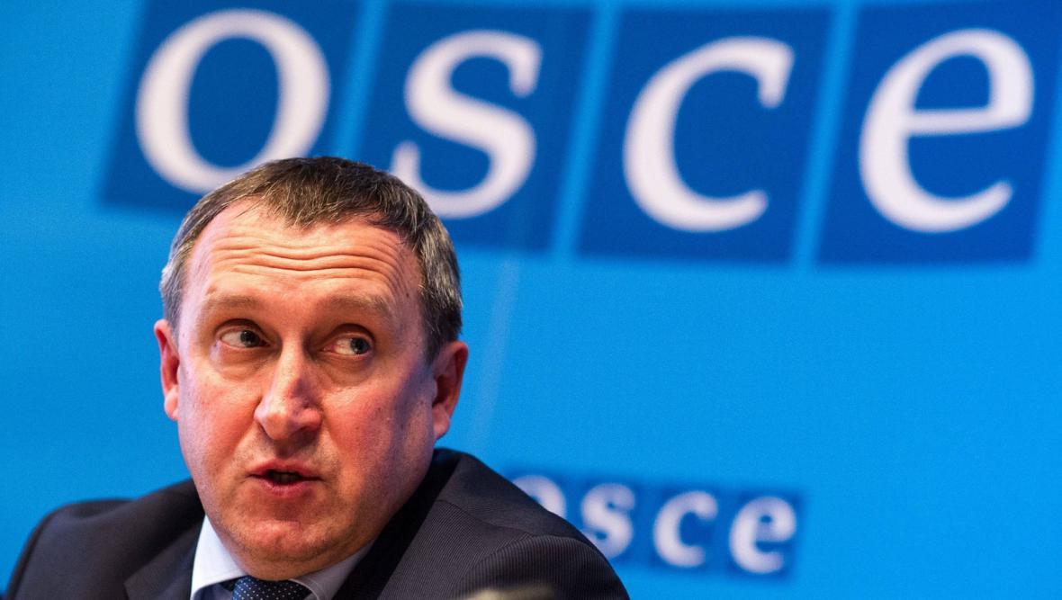 Šéf ukrajinské diplomacie Andrij Deščycja