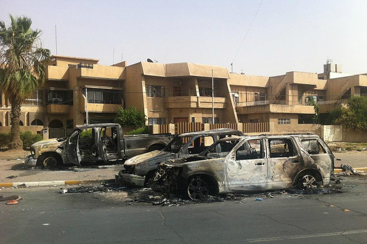 Mosul těžce zasažen boji
