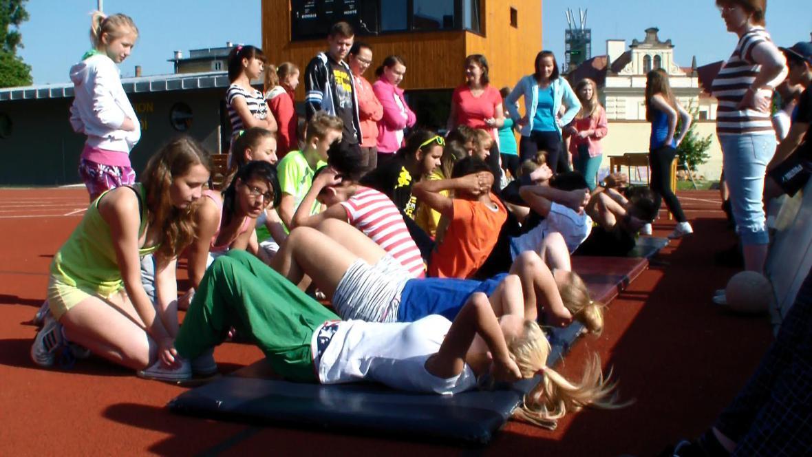 Dětský den na ZŠ Komenského alej v Žatci
