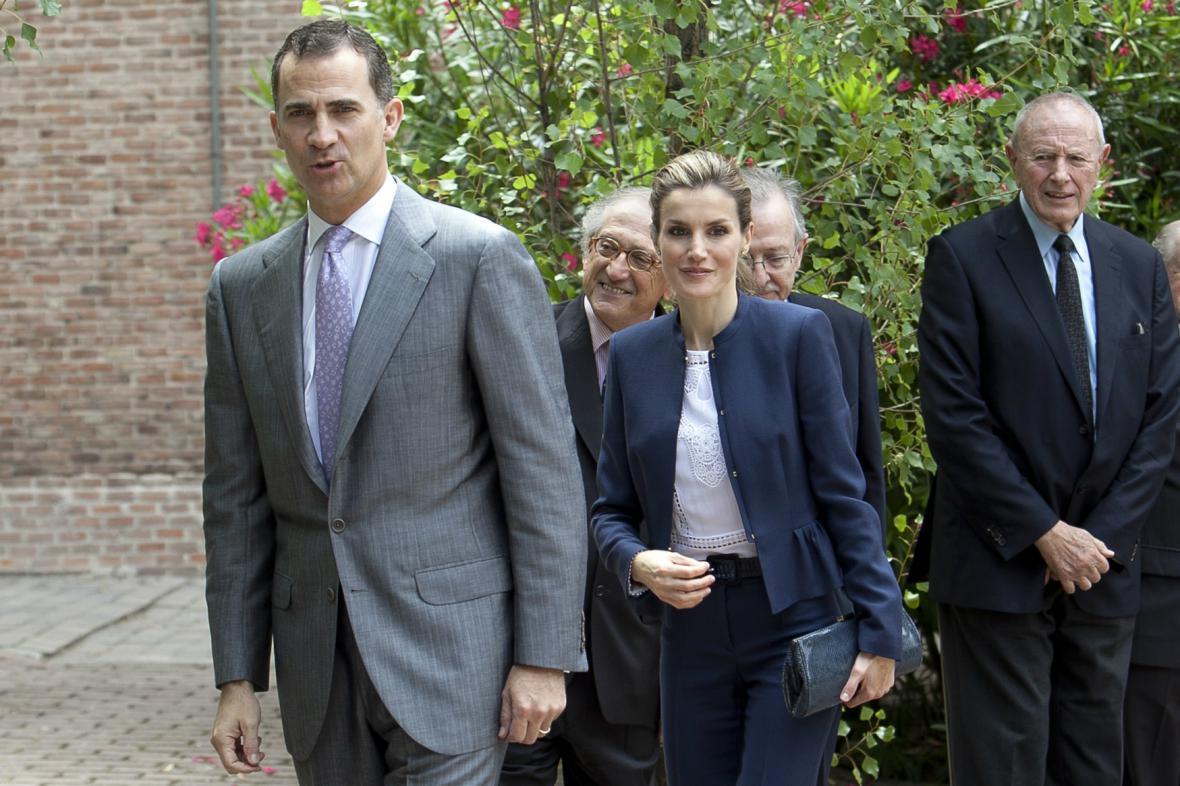 Princ Felipe a princezna Letizia