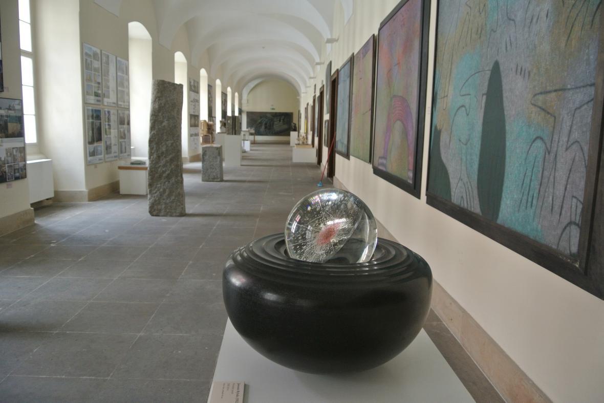 Výstava spolku Mánes na holešovském zámku
