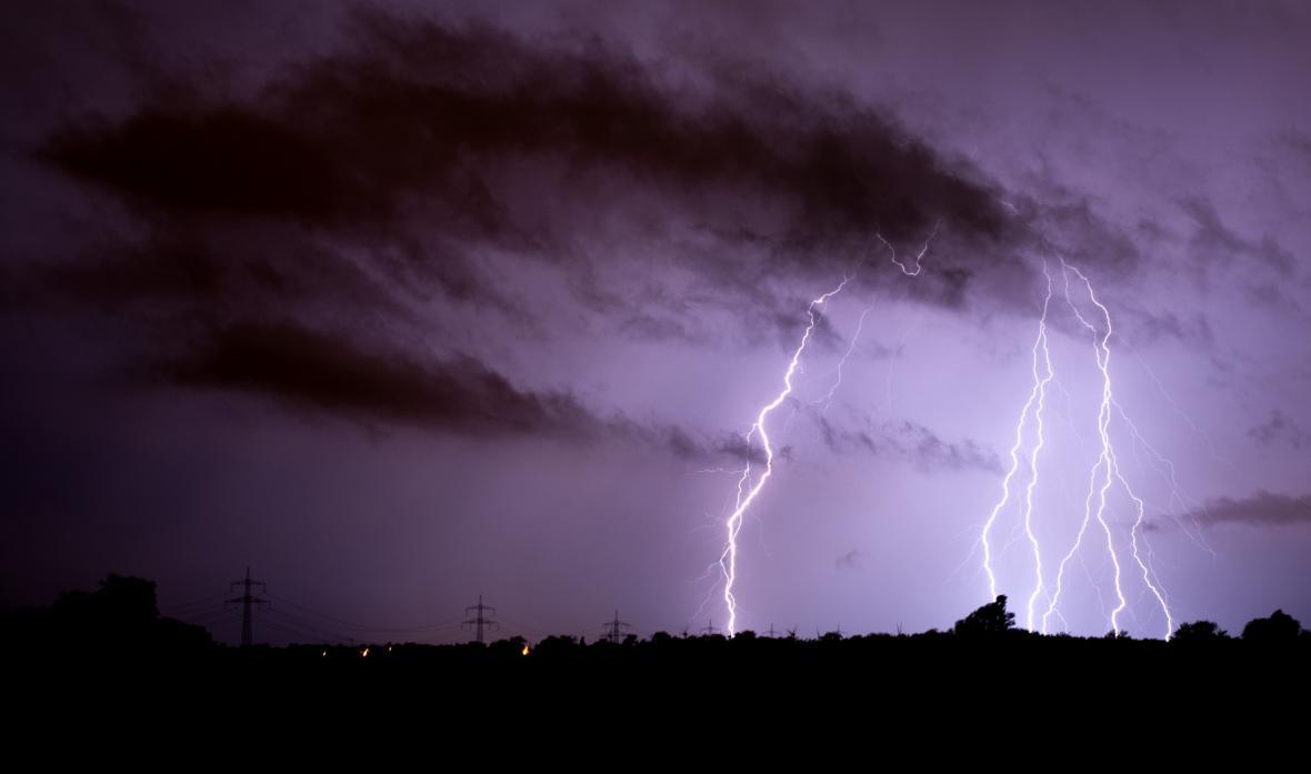 Bouřky zasáhly i Dolní Sasko