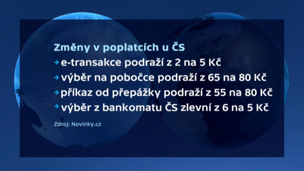 Změny u České spořitelny