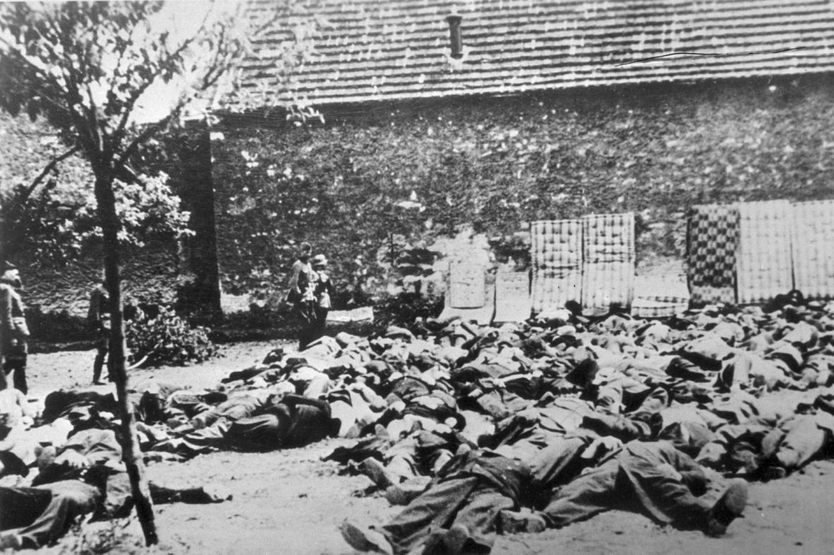 Popravení muži z Lidic