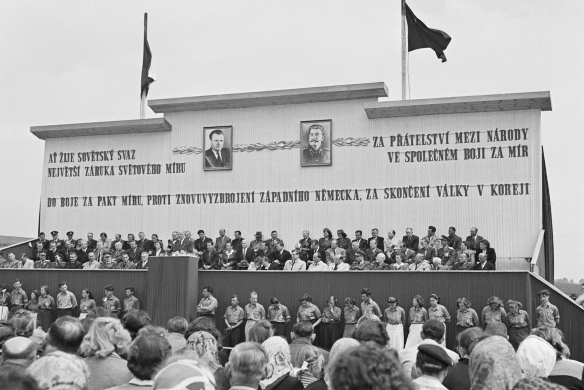10. výročí vyhlazení Lidic - projev ministra vnitra Václava Noska