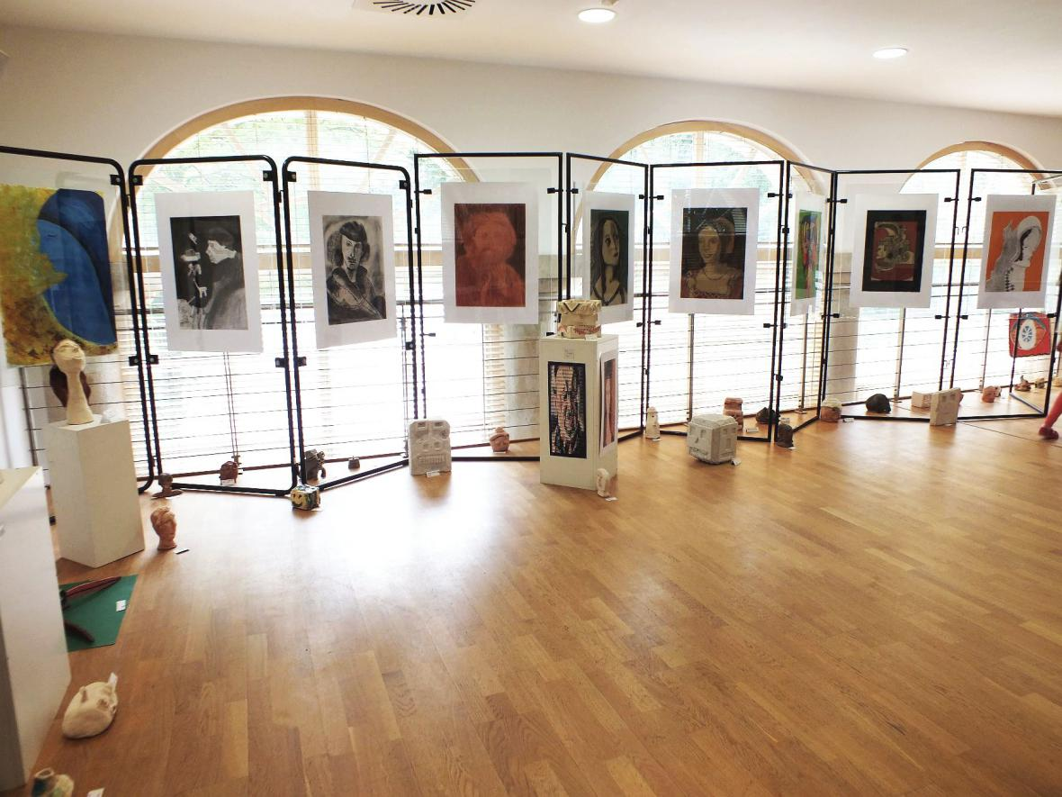 Z výstavy ZUŠ Boskovice