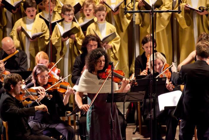 Koncert Ivy Bittové na festivalu Concentus Moraviae