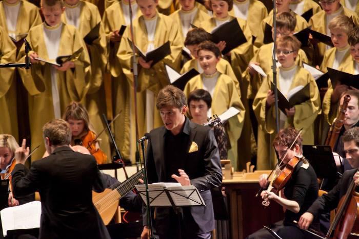 Koncert Vojtěcha Dyka na festivalu Concentus Moraviae