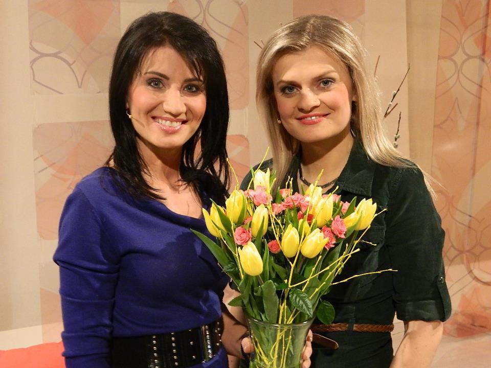 Moderátorky Tereza Stýblová a Soňa Šuláková