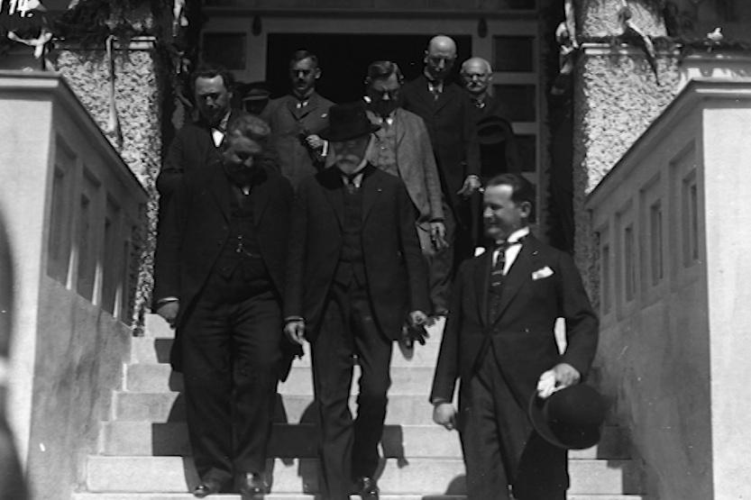 Do lázeňského města zavítal i T. G. Masaryk