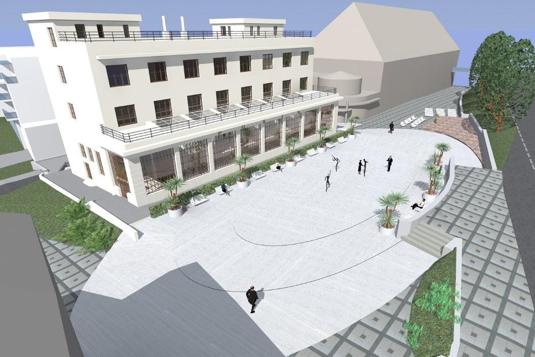 Vizualizace nové podoby ulice Dr. Veselého
