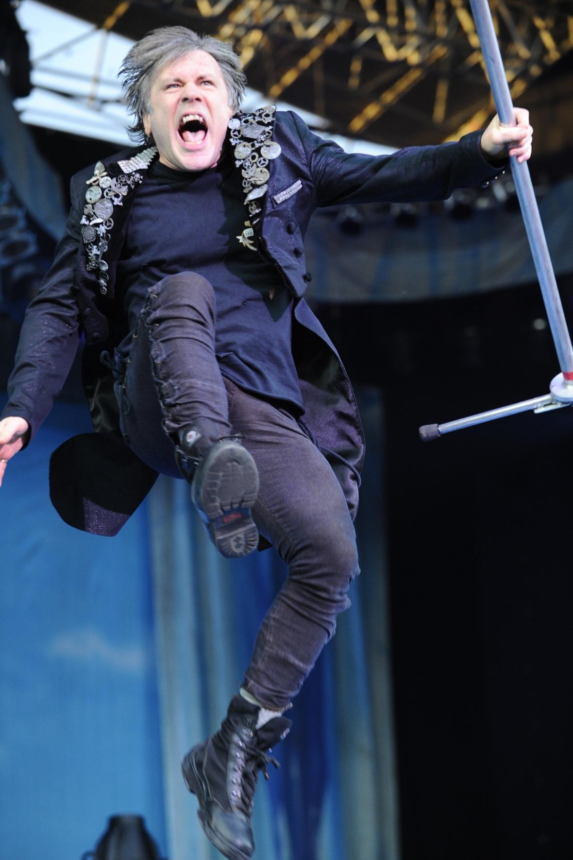Iron Maiden do Brna zavítali v rámci turné Maiden England