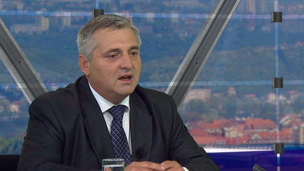 Předseda ÚOHS Petr Rafaj v Otázkách Václava Moravce