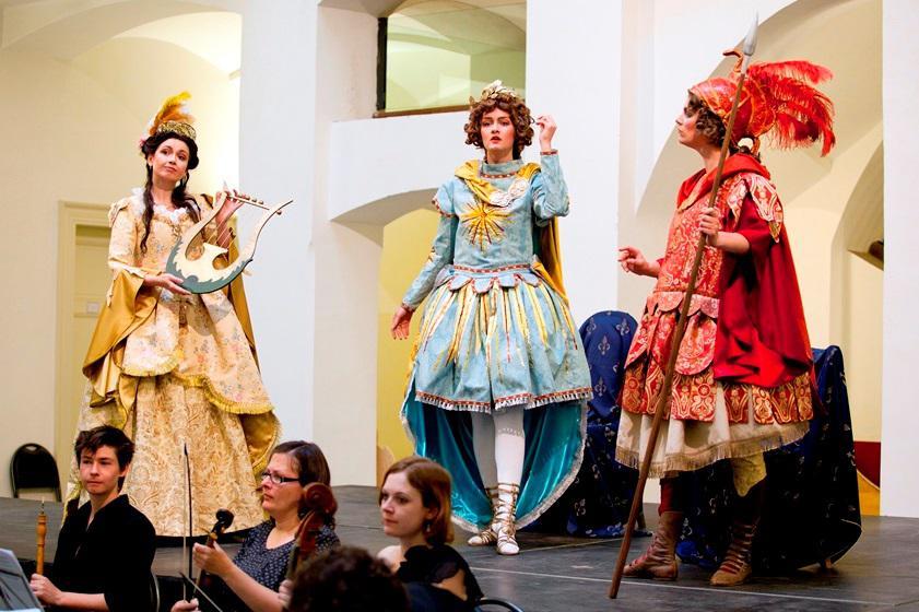 Barokní opera v nastudování souboru Hof-Musici