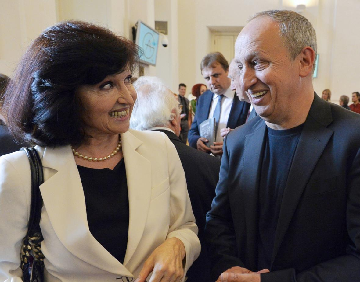 Eliška Krausová a Jan Kraus