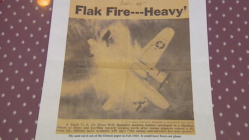Zpráva o zničení letadla, se kterým Mallinoff létal