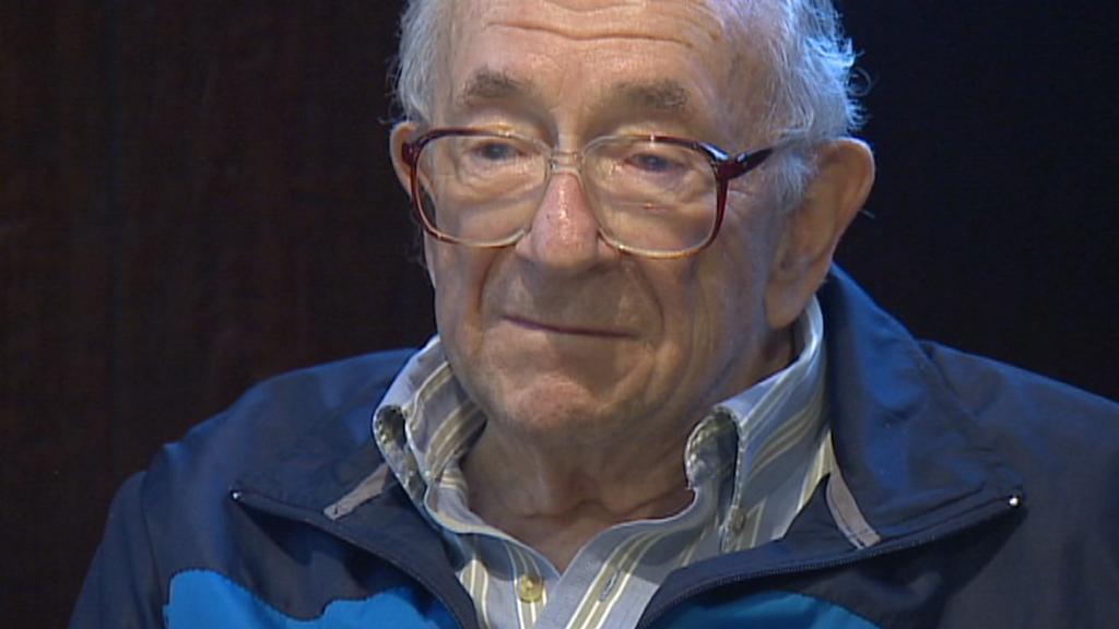 Válečný veterán Maurice Mallinoff