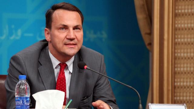 Polský ministr zahraničí Radoslaw Sikorski