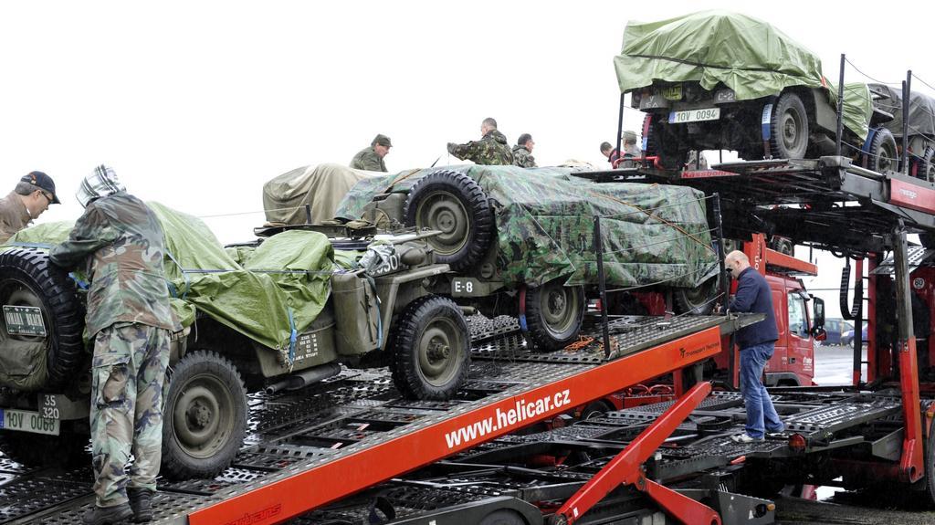Výprava Military Clubu Plzeň do Normandie