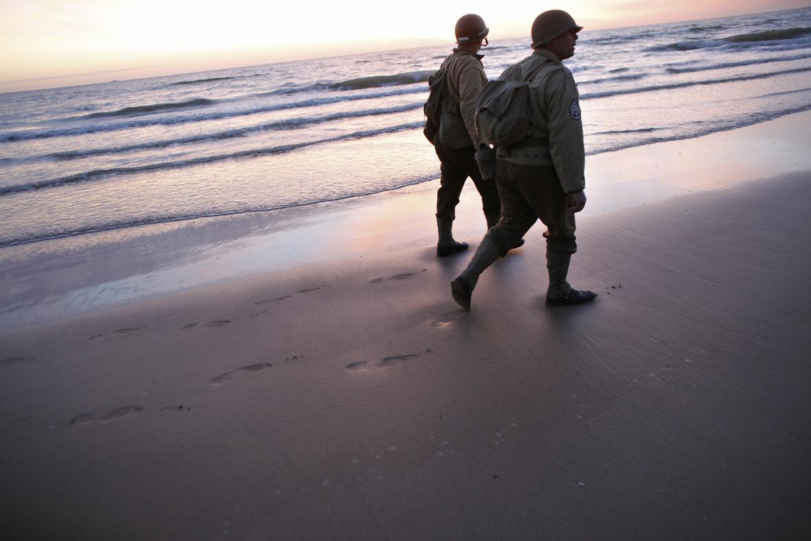 Výročí vylodění v Normandii