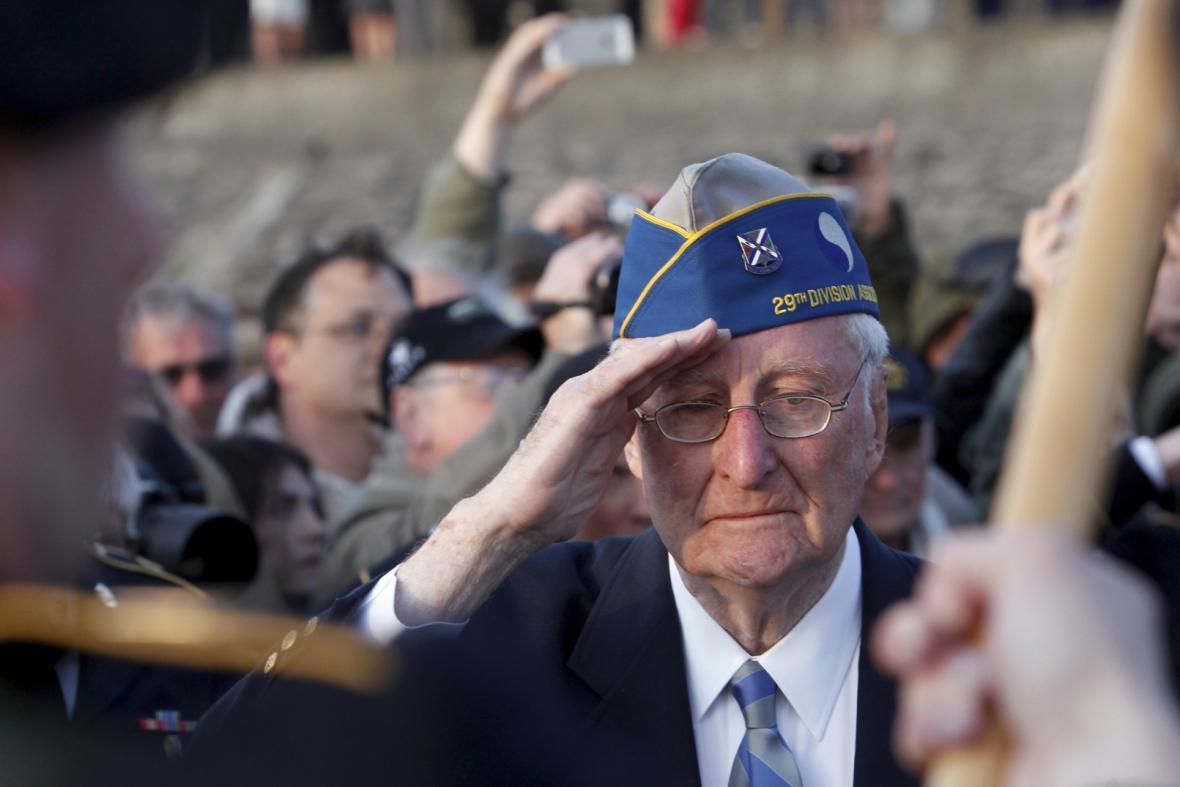 Morley Piper, veterán americké 29. pěší divize