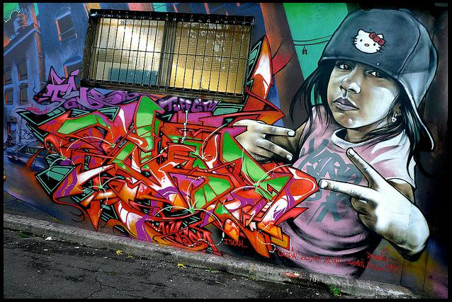 Graffiti od T-Kida