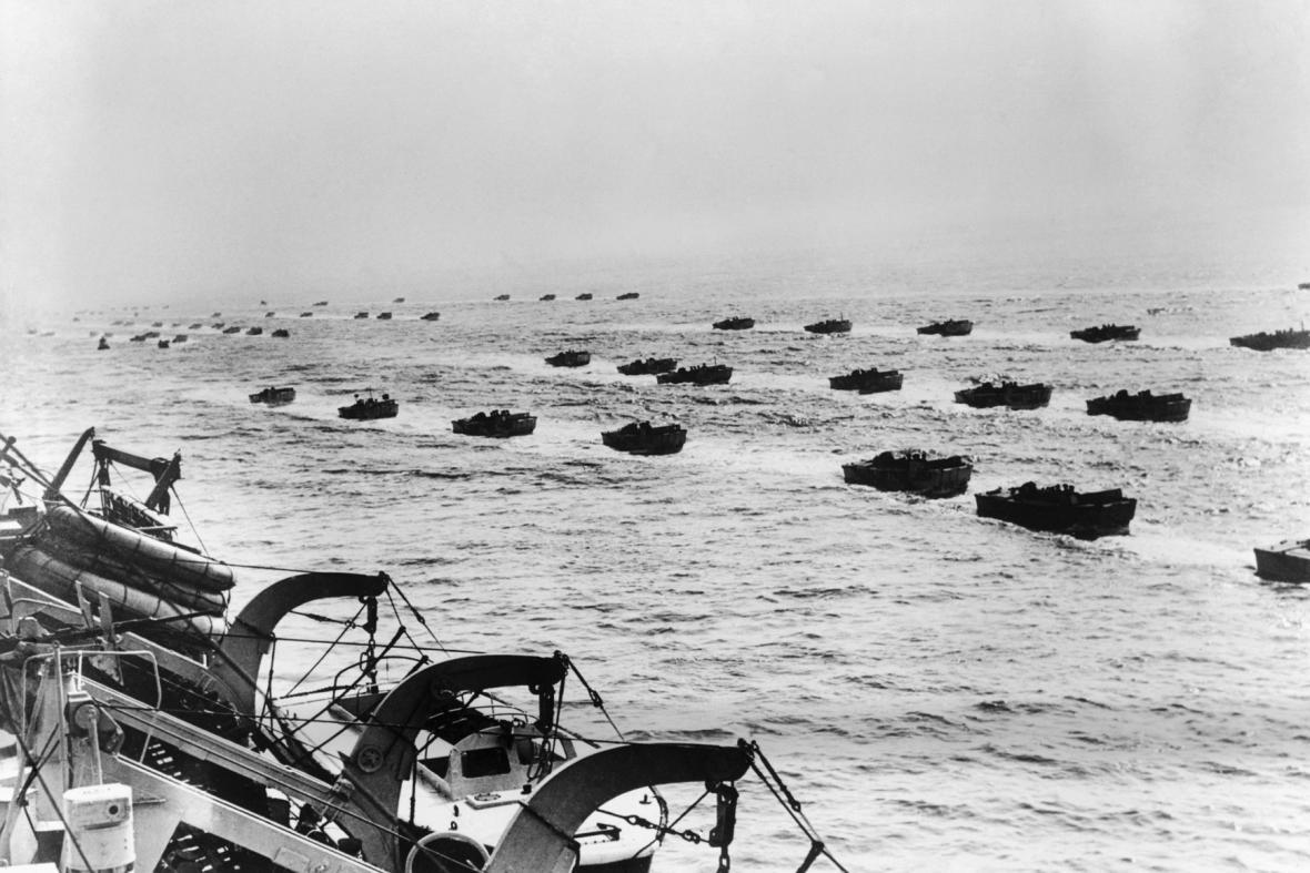 Vylodění Spojenců v Normandii