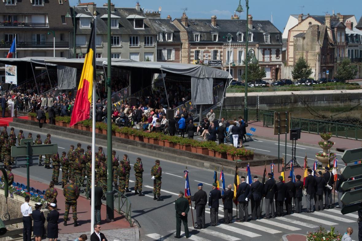 Ceremonie v Belgii
