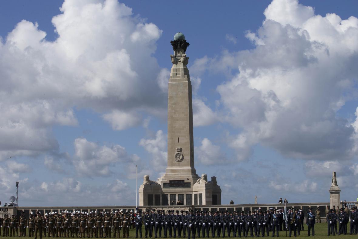 Ceremonie v Británii