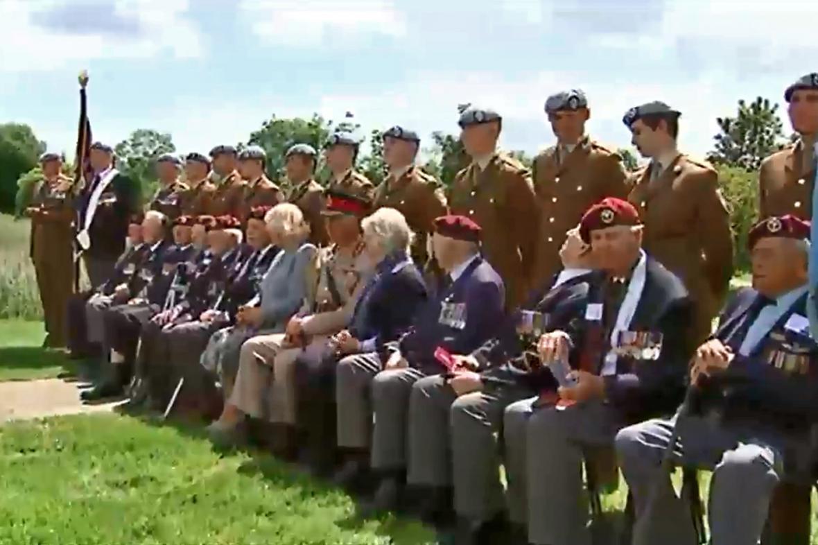 Setkání prince Charlese s britskými válečnými veterány