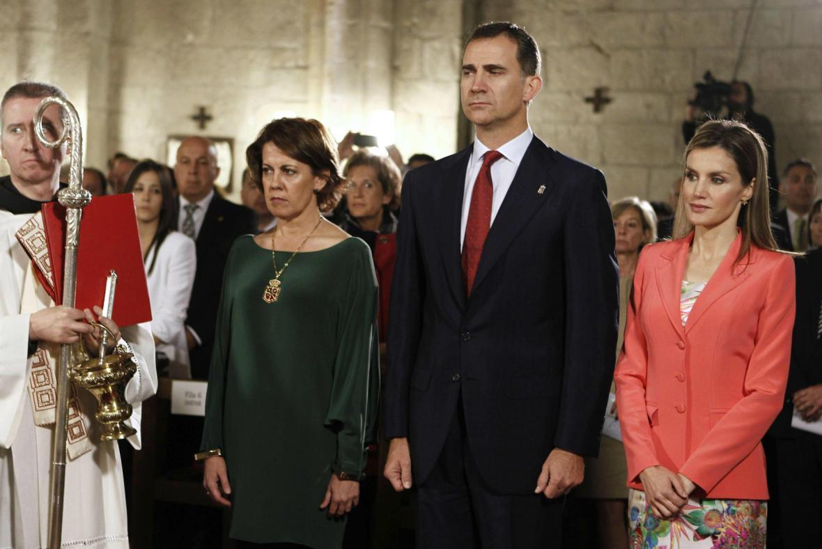 Korunní princ Felipe a princezna Letizia během několika týdnů usednou na trůn