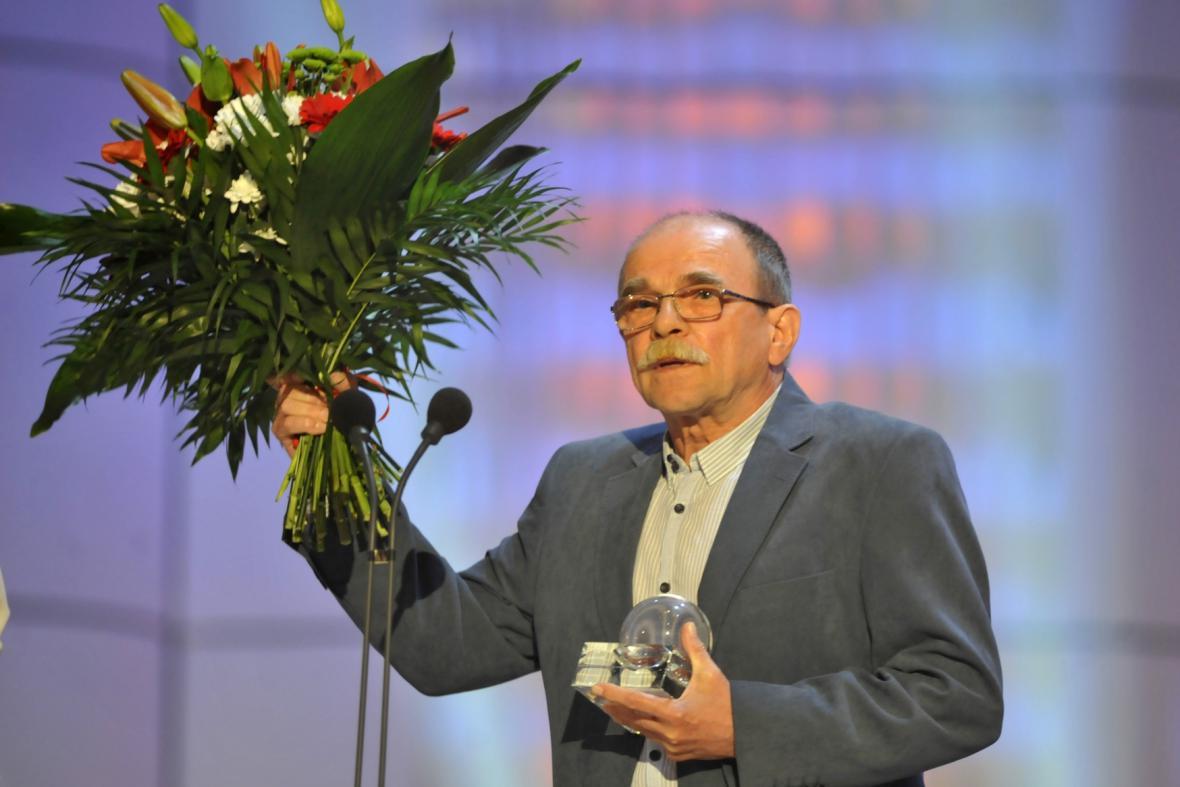 Jaroslav Uhlíř dostal ocenění za tvůrčí přínos ve filmové tvorbě pro děti a mládež