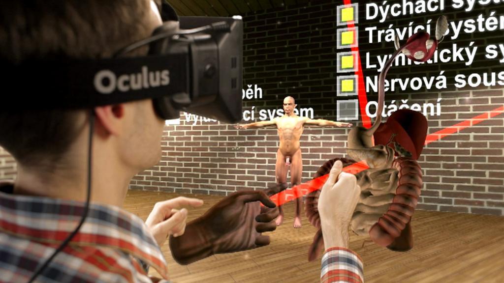 Výuka ve virtuální realitě