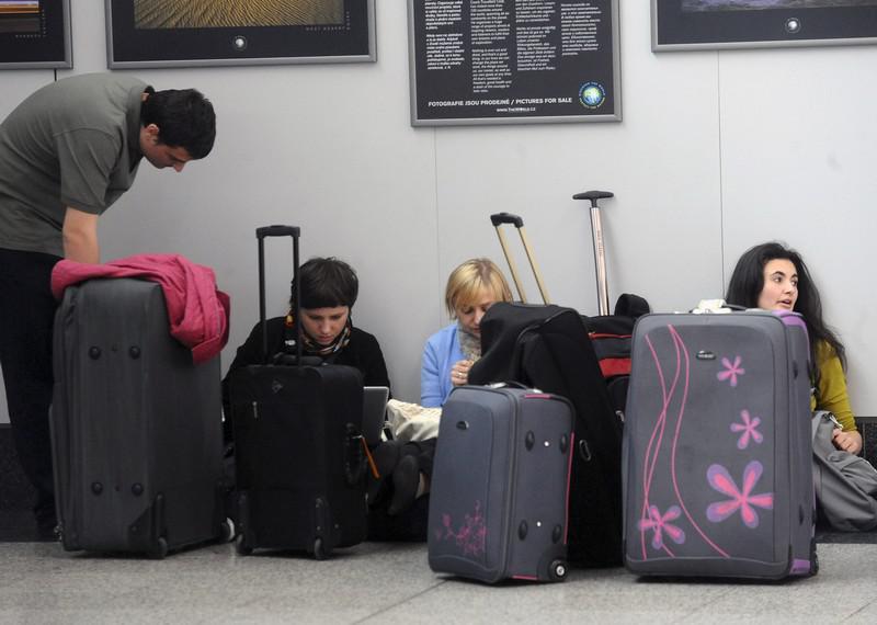 Čekající cestující