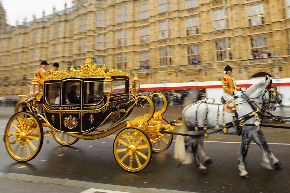Královský kočár Diamond Jubilee