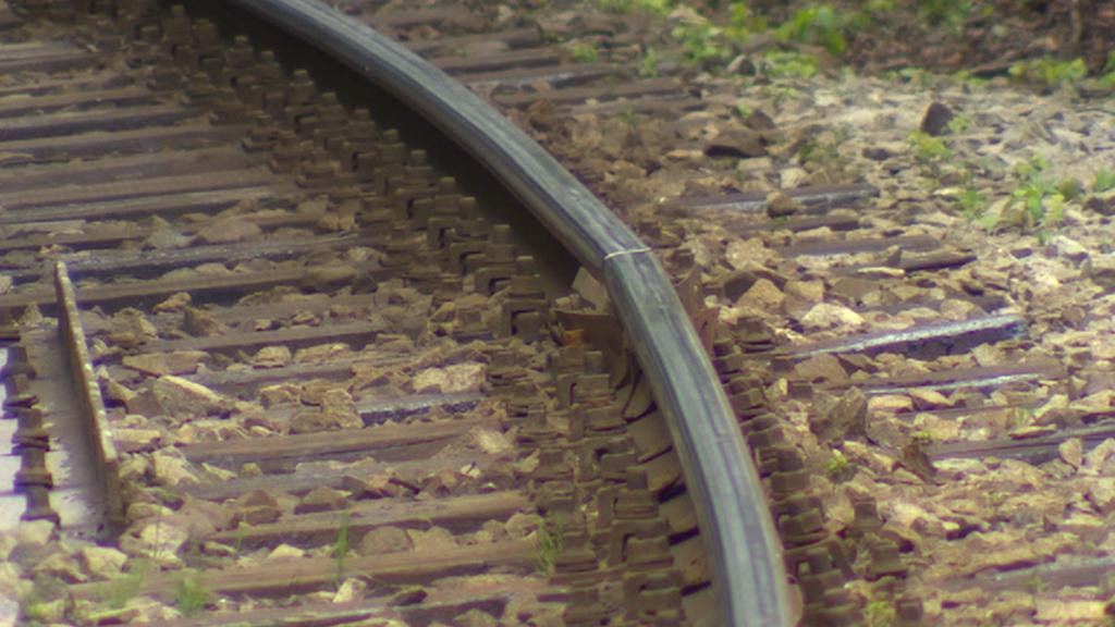 Poškozená Jizerskohorská železnice