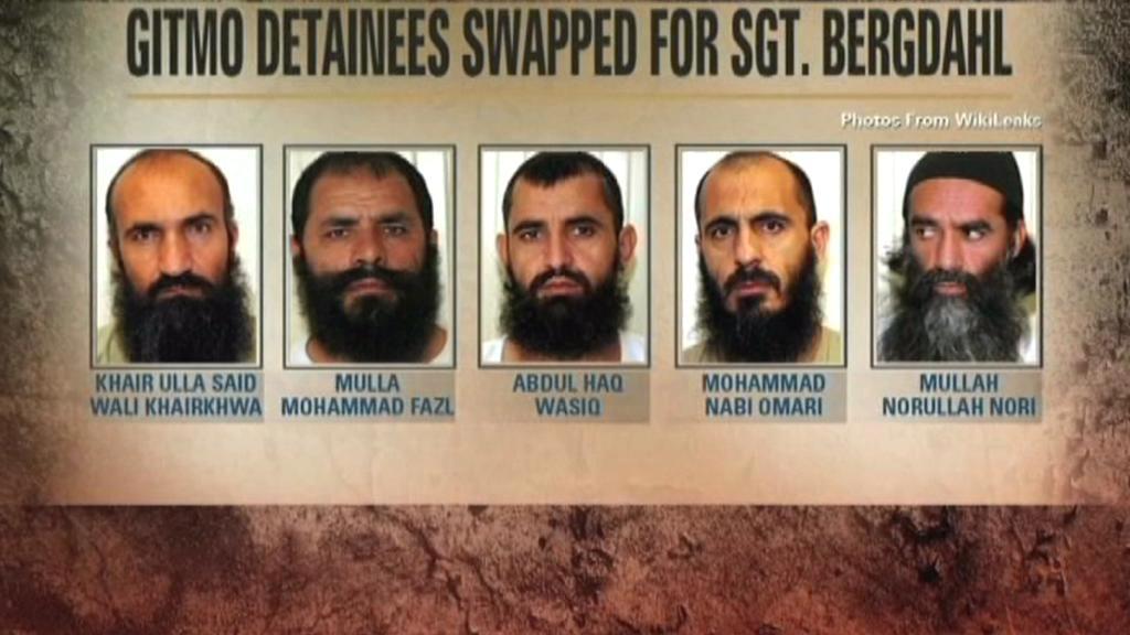 Propuštění členové Talibanu