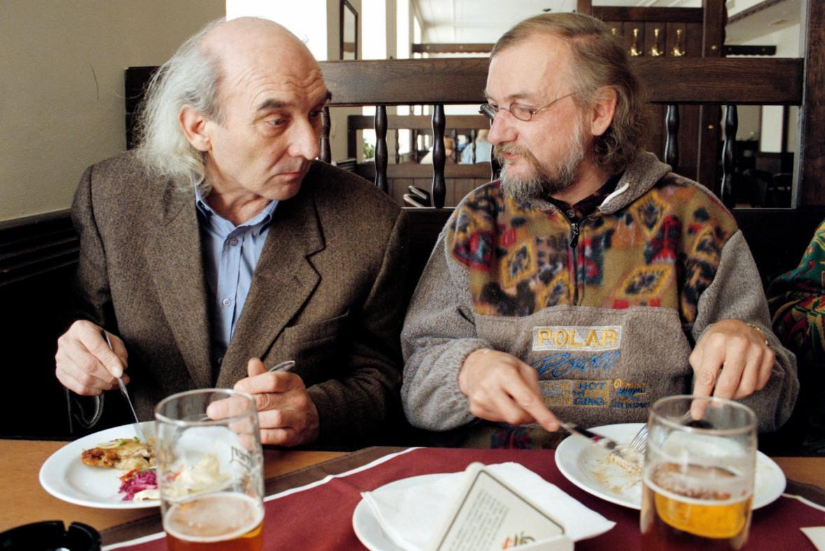 Karel Nepraš a Jan Steklík