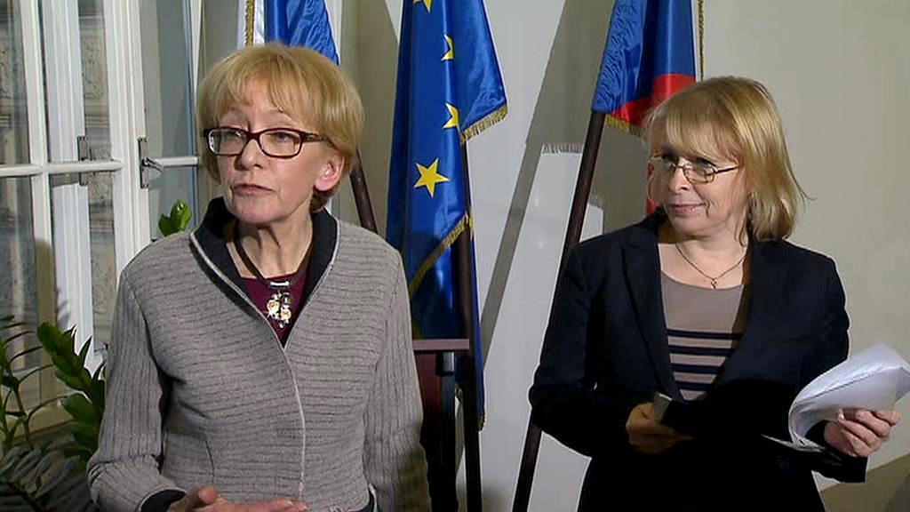 Helena Válková a Hana Marvanová