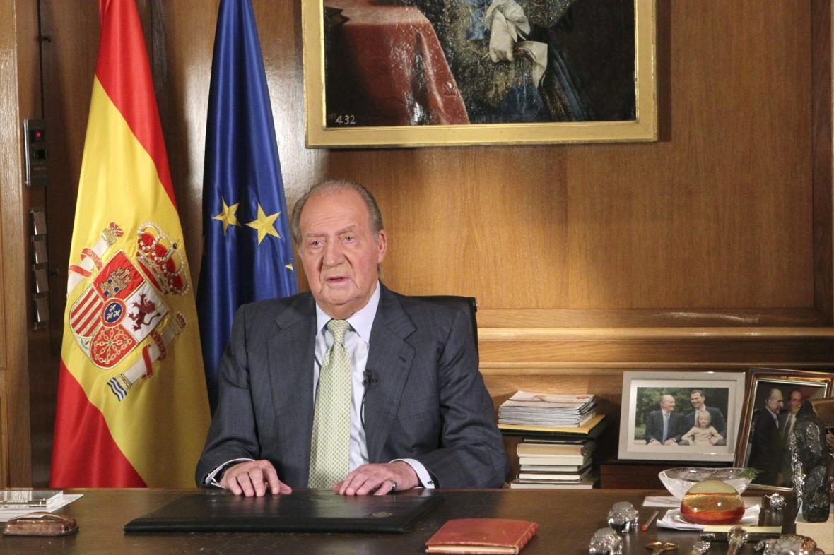 Juan Carlos I. oznámil svou abdikaci
