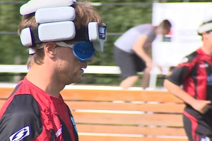 Mezinárodní utkání nevidomých futsalistů