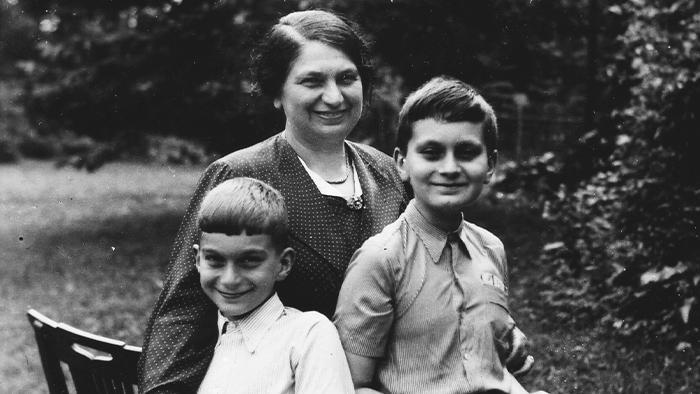 Toman Brod na rodinné fotografii
