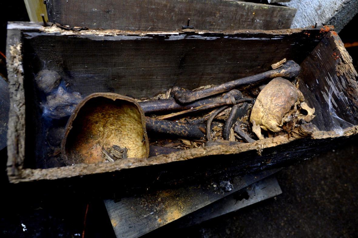 Stěhování ostatků vojáků padlých v první světové válce