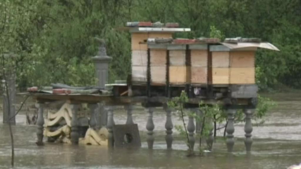 Rozsáhlé povodně postihly Sibiř