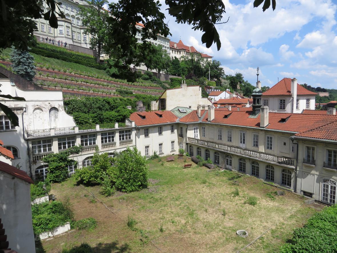 Zahrady u britské ambasády