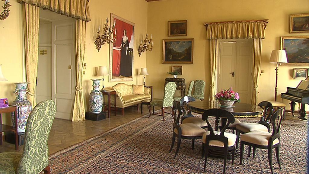 Interiéry britského velvyslanectví v Praze