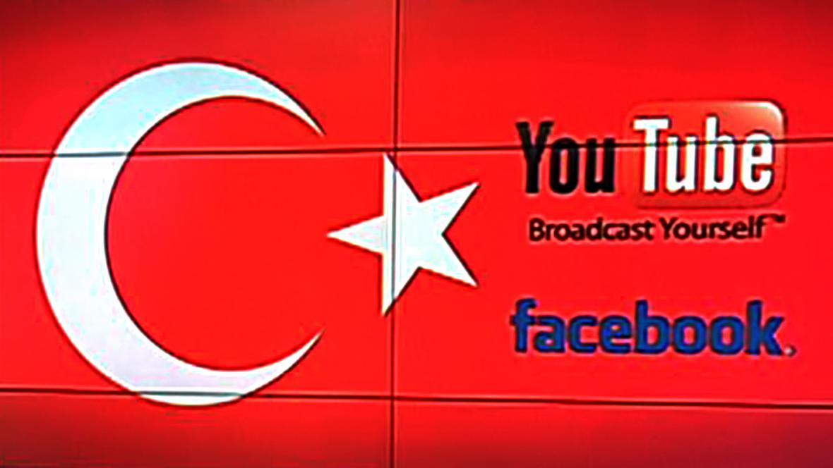 Turecko blokuje YouTube