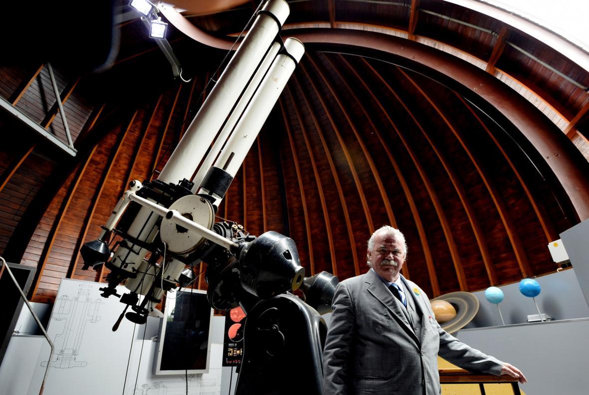 Ředitel Hvězdárny a planetária hl. m. Prahy Marcel Grün